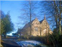 SO2956 : Entrance to St Mary's Church by Trevor Rickard
