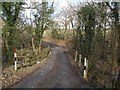 SX3281 : Bridge near Linnick Farm by Derek Harper