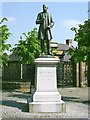 NS6065 : Statue of James White of Overtoun by Lairich Rig