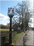 TQ5337 : Groombridge Village Sign by David Anstiss