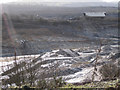 SX8575 : Looking southwest across White Pit Quarry by Robin Stott