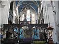 TQ4278 : Rood screen of St Michael's church : Week 9