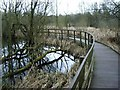 SP1392 : Raised Walkways, Plants Brook Nature Reserve by Michael Westley
