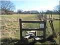 TQ8927 : Stile on High Weald Landscape Trail near Bates Farm by David Anstiss