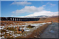 SD7679 : Ribblehead viaduct by Peter Church