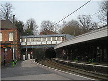 SP1196 : Sutton Coldfield Station line north to Lichfield by Row17