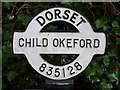 ST8312 : Child Okeford: finger-post detail by Chris Downer