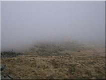 SH6322 : Y Braich in cloud by Rudi Winter