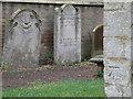 TL5284 : Bench Mark, Little Downham church by Michael Trolove