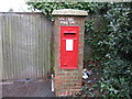 SU4612 : Post Box, Upper Deacon Road, Southampton by Alex McGregor