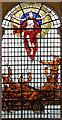 TQ3381 : St Peter upon Cornhill, Cornhill, London EC3 - Window : Week 12