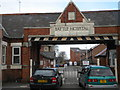 SU6973 : Entrance to the former Battle Hospital, Oxford Road, Reading by Robin Sones