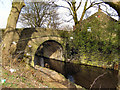 SD9113 : Rochdale Canal, Bridge 56 by David Dixon