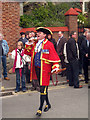 TQ8209 : Hastings Town Crier by Oast House Archive