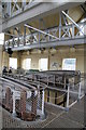 SZ6799 : Eastney Pumping Station - the beam floor by Chris Allen