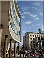 SX4854 : Buildings at St Andrew's Cross, Plymouth by Derek Harper