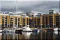 TQ3480 : St.Katharine Docks, London by Peter Trimming