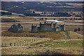 NN7699 : Ruthven Barracks and the River Spey by Jim Barton