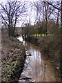 TM3877 : Stream off River Lane by Adrian Cable
