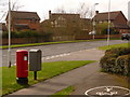 SY9994 : Broadstone: postbox № BH18 286, Pinesprings Drive by Chris Downer
