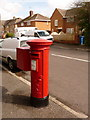 SZ0094 : Waterloo: postbox № BH17 246, Milne Road by Chris Downer