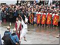 TQ3080 : Trafalgar Square passion play: a miracle : Week 13