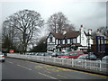 TQ4357 : Fox and Hounds public house, Westerham Hill by Stacey Harris