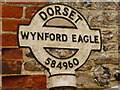 SY5895 : Wynford Eagle: finger-post detail by Chris Downer