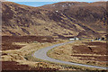 NC2312 : Easter holiday traffic on the A835 by Jim Barton