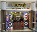 TL1493 : Gaming Arcade at Peterborough Services by David Wright