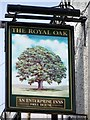 SD3084 : Sign for the Royal Oak by Maigheach-gheal