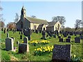 NY9393 : St Cuthbert's Parish Church, Elsdon by Andrew Curtis