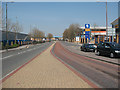 TQ4178 : Dedicated bus lane, Charlton by Stephen Craven