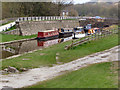 SK0282 : Peak Forest Canal: Bugsworth Basin by David Dixon