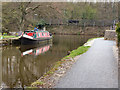 SK0182 : Peak Forest Canal: Buxworth Branch by David Dixon