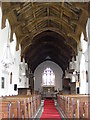 TM3068 : Interior of John The Baptist Church, Badingham by Adrian Cable