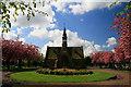 SK4833 : The chapel in Long Eaton Cemetery : Week 18