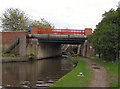 SJ8997 : Ashton Canal, Edge Lane Bridge by David Dixon