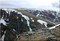 NN4288 : The Creag Meagaidh plateau by Nigel Brown