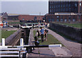 SJ9097 : Ashton Canal; Fairfield lock by David Dixon