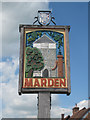 TQ7444 : Marden Village Sign by Oast House Archive
