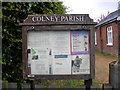 TG1808 : Colney Village Notice Board by Adrian Cable