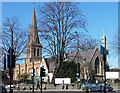TQ2971 : St Leonard, Streatham High Road by Stephen Richards
