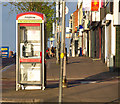 J5081 : Telephone call box, Bangor by Rossographer