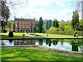 SO5868 : Burford House and formal gardens by Jonathan Billinger