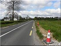 H2318 : N87 road at Clontycarnaghan by Kenneth  Allen