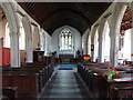 SX1268 : St Meubred's church, Cardinham - interior by Ruth Sharville