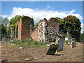 TL6294 : The ruin of St Mary's church in Southery by Evelyn Simak