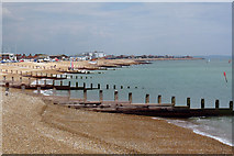 TV6299 : Beach and Groynes by Oast House Archive