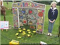 SK2631 : One hundred years of the Girl Guides at Etwall Well Dressing 2010 by John M